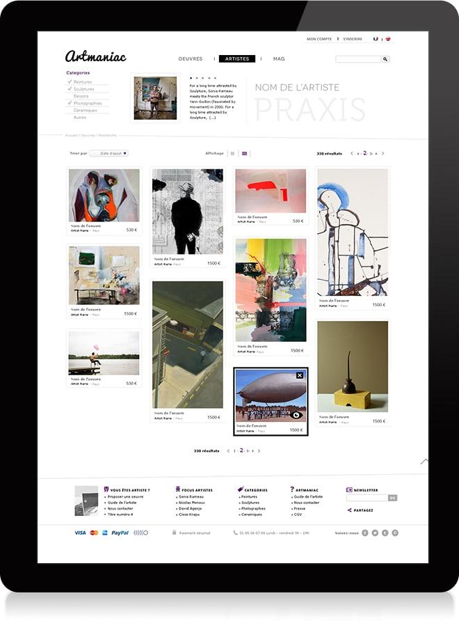 Artmaniac artistes 1 - Michael van Houten