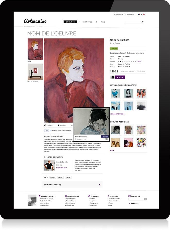 Artmaniac oeuvre - Michael van Houten