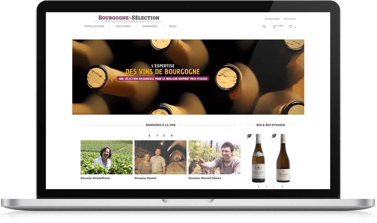 Bourgogne Sélection accueil 2 - Stratégie digitale - Michael van Houten