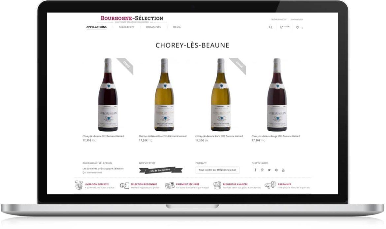 Bourgogne Sélection fiche vin blanc - Michael van Houten