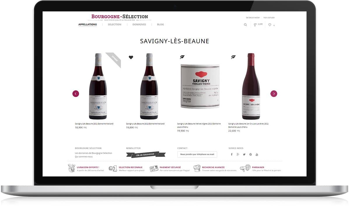 Bourgogne Sélection fiche vin rouge - Michael van Houten