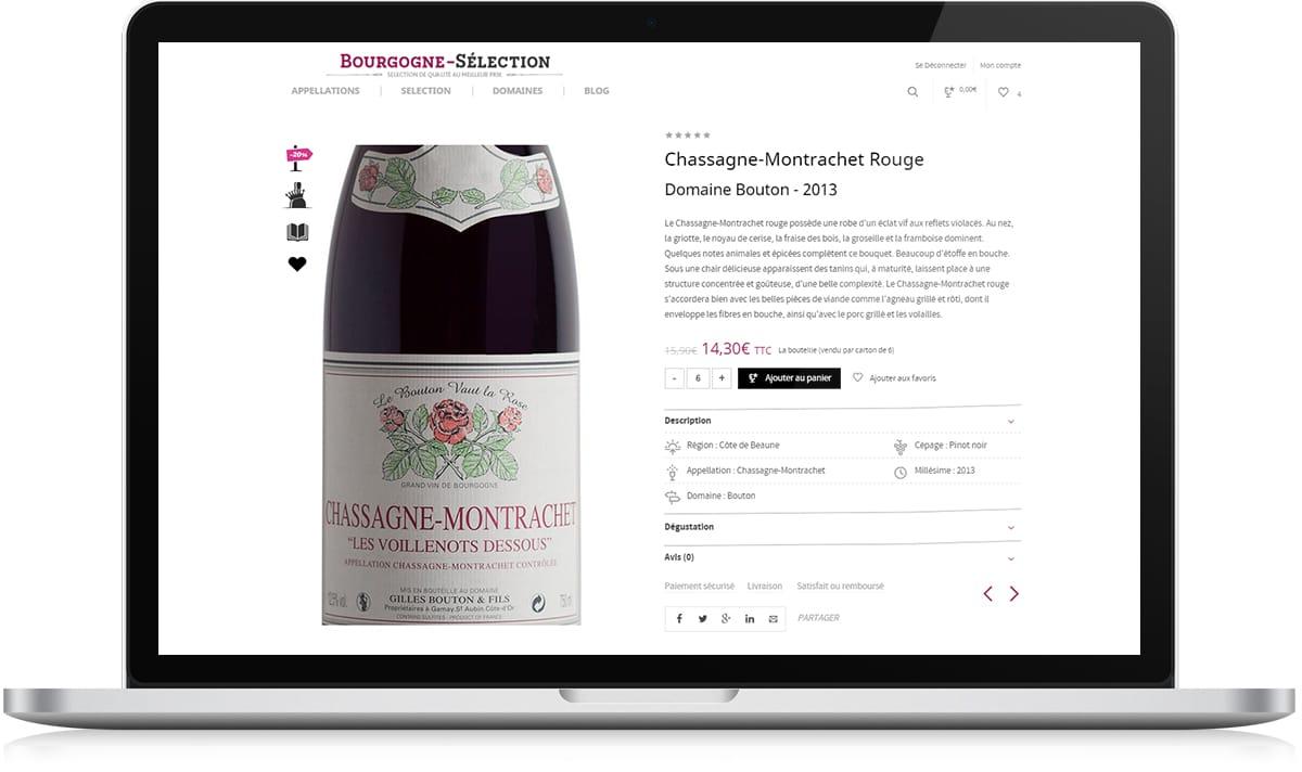 Bourgogne Sélection fiche produit - Michael van Houten