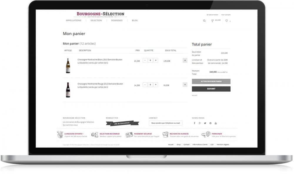 Bourgogne Sélection paiement - Michael van Houten