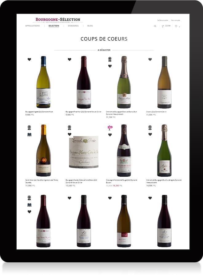 Bourgogne Sélection shop - Michael van Houten