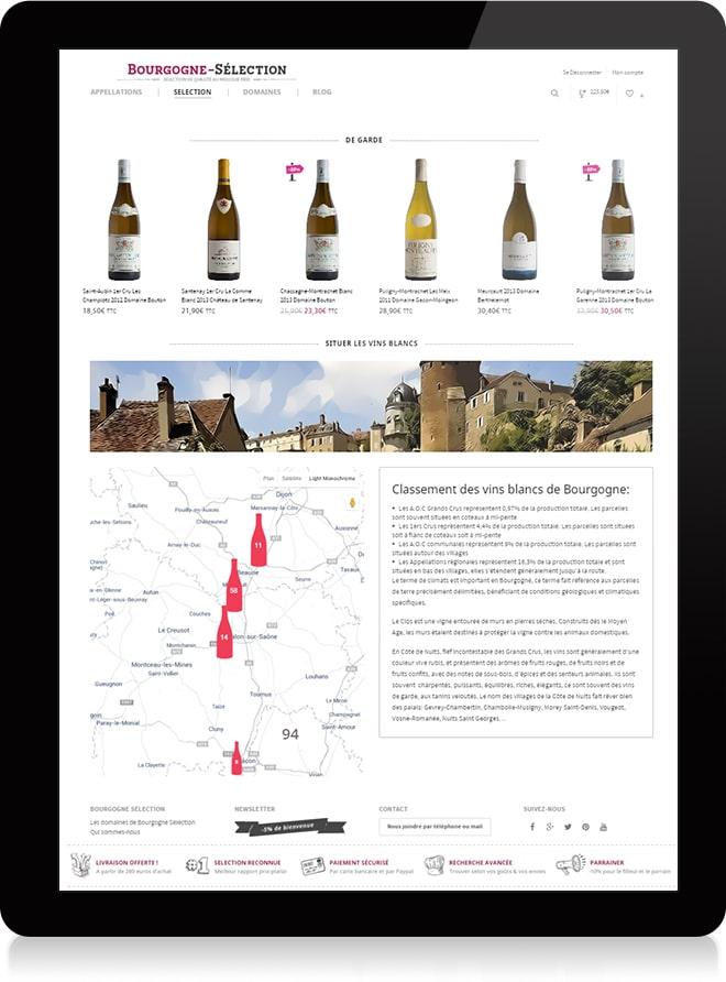 Bourgogne Sélection plan - Michael van Houten