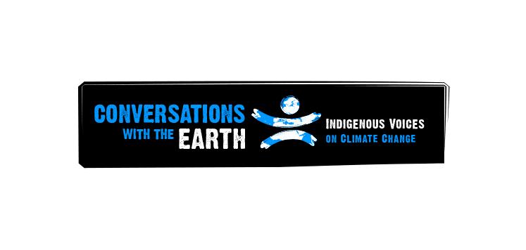 Logo Conversations with the Earth - Michael van Houten
