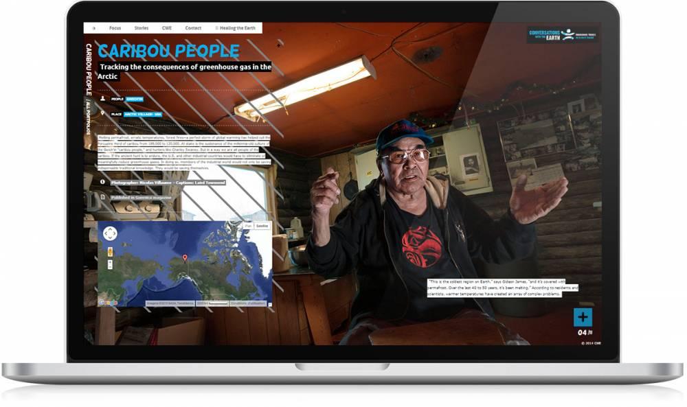 CWE story Caribou people - Michael van Houten
