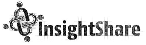 Insightshare logo sketch - Michael van Houten