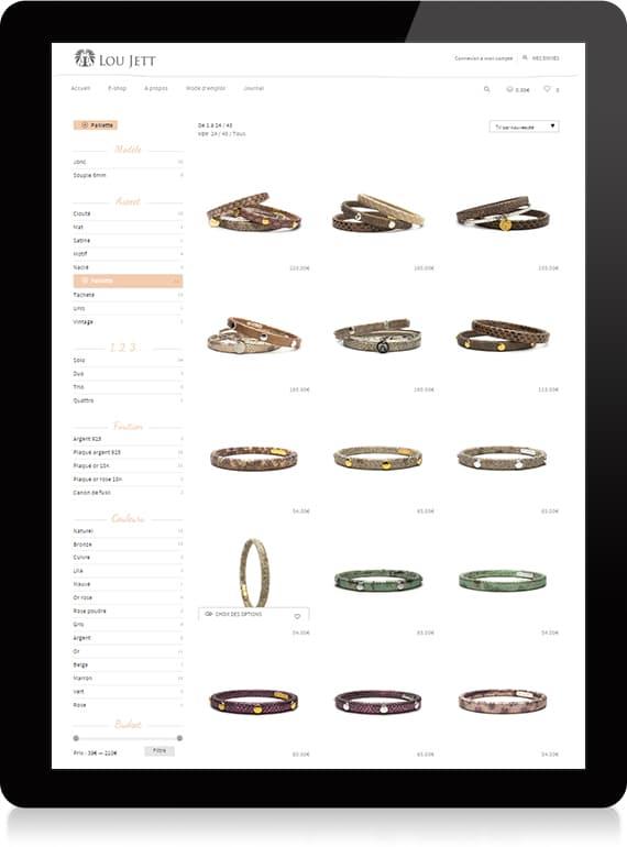 Shop Lou Jett - Identité de marque - Michael van Houten