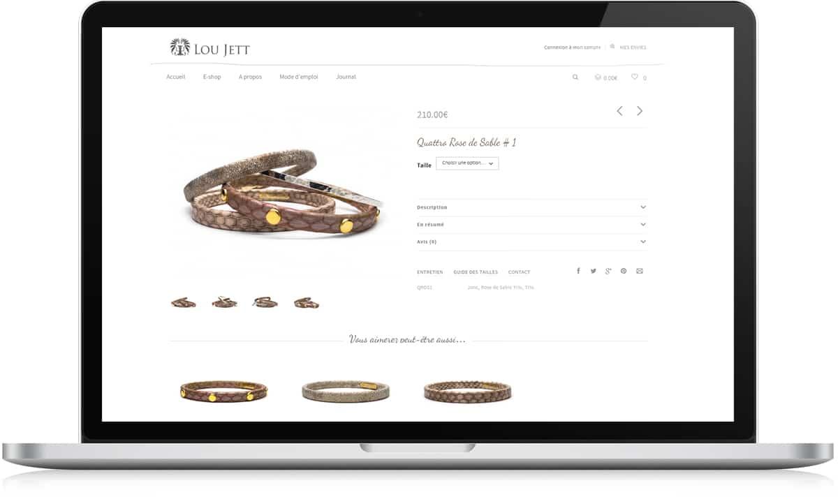 Bracelet Lou Jett - Identité de marque - Michael van Houten