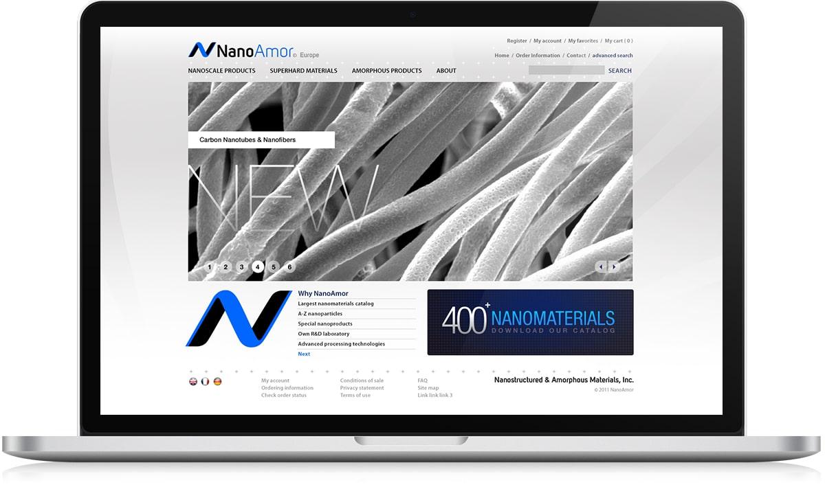 NanoAmor accueil Créations graphiques