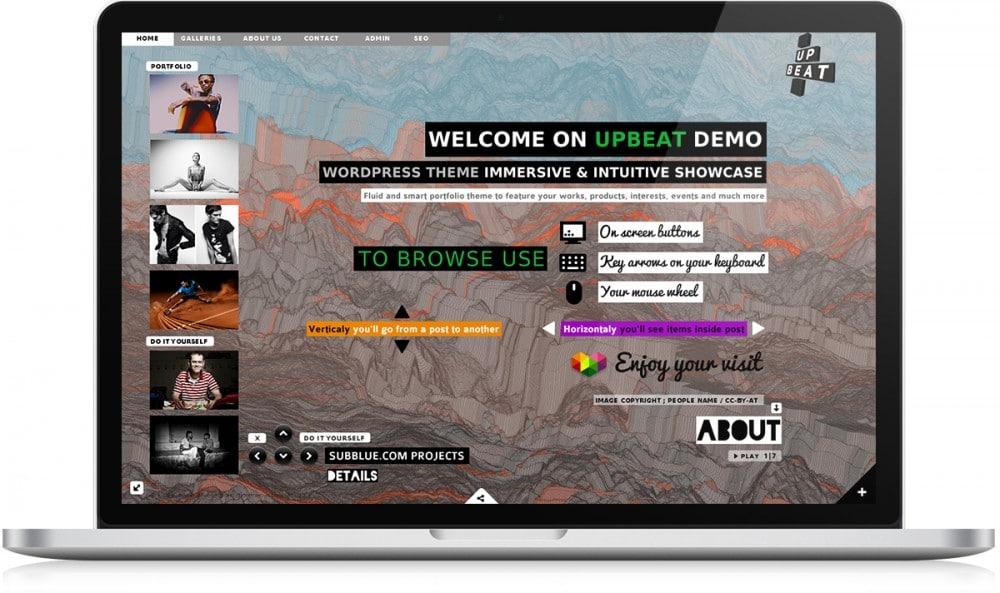 Upbeat demo gallerie 2 - Michael van Houten