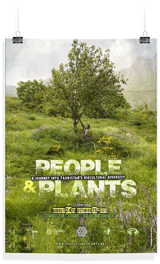 People and Plants affiche 4 - Michael van Houten
